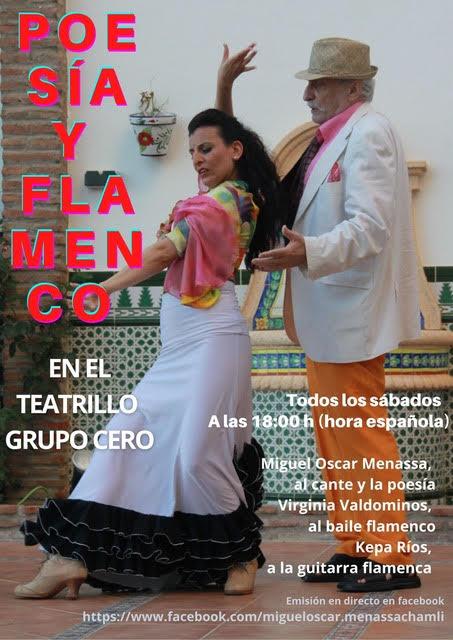 Espectaculo Poesia y Flamenco